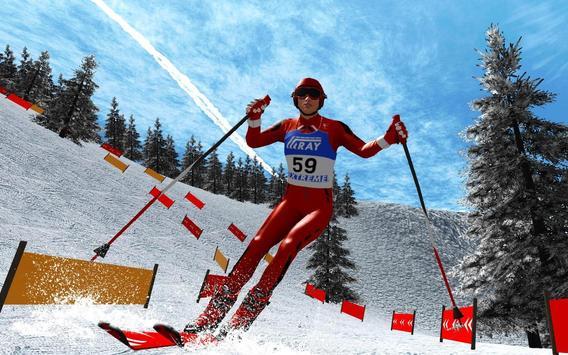 Ski Jump Super Skiing Safari Adventure screenshot 3