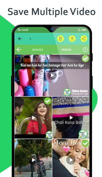 Status Downloader para Whatsapp y Video captura de pantalla 1