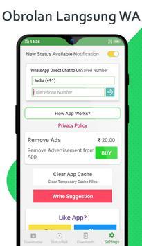 Status Unduh - Downloader untuk Whatsapp screenshot 3