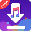 Free Music Downloader & Mp3 Music Download-icoon