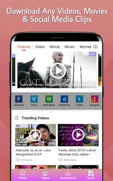 Video Downloader - Free Video Downloader app screenshot 1