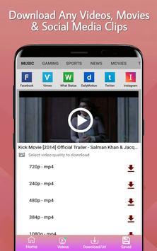 Video Downloader - Free Video Downloader app screenshot 2