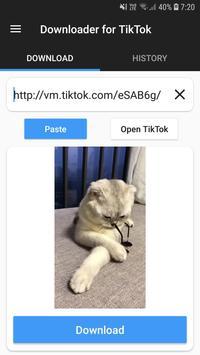 Downloader for TikTok screenshot 2