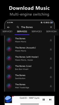 Free Music Downloader -Mp3 download music screenshot 1