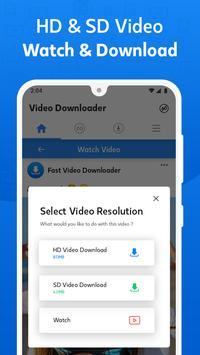 Pengunduh video gratis untuk Facebook screenshot 13