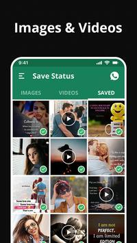 وتنزيل الحالة & تخزين  - تخزين الحالة من الواتساب تصوير الشاشة 9