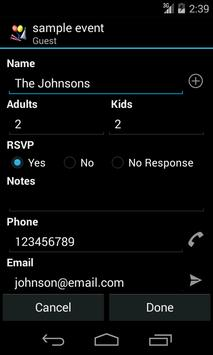 My Party Planner - Lite screenshot 6