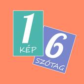 Hat szótöredék - szókereső icon