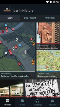 berlinHistory poster