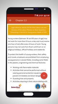 Jordanian Labour Law Guide screenshot 1