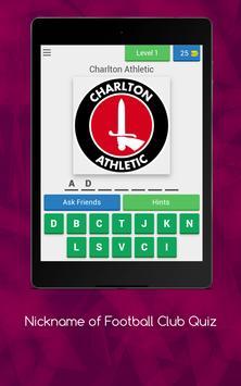 Nickname of Football Clubs Quiz screenshot 14