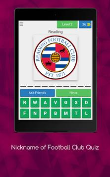 Nickname of Football Clubs Quiz screenshot 16