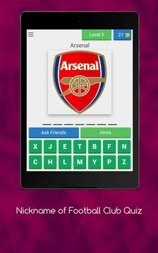 Nickname of Football Clubs Quiz screenshot 17