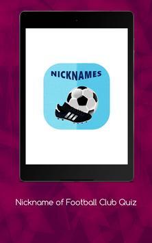Nickname of Football Clubs Quiz screenshot 18