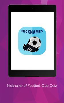 Nickname of Football Clubs Quiz screenshot 11