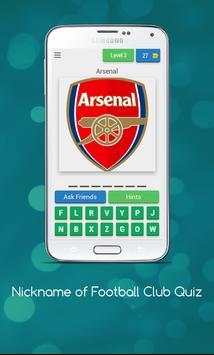 Nickname of Football Clubs Quiz screenshot 3
