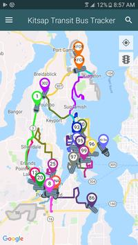 Kitsap Transit Bus Tracker screenshot 1