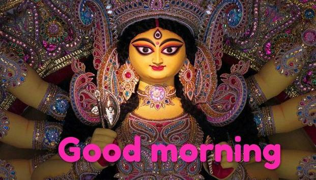 Durga Mata Good Morning Wishes poster