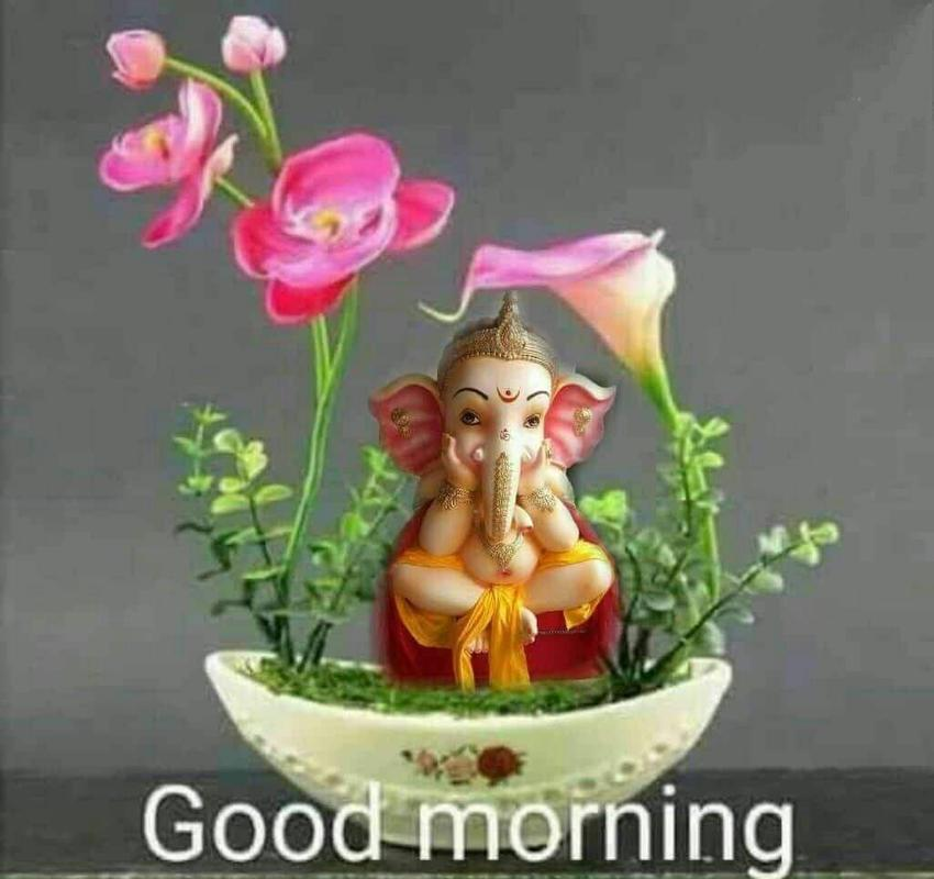 Lord Ganesh Good Morning Greetings For Android Apk Download