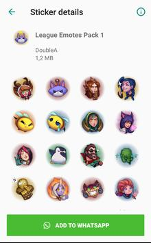 Complete League Sticker Collection - WAStickerApps screenshot 2