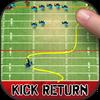 Ted Ginn: Kick Return Football Zeichen