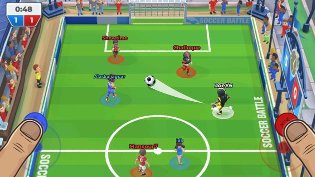 फुटबॉल की लड़ाई (Soccer Battle) स्क्रीनशॉट 2