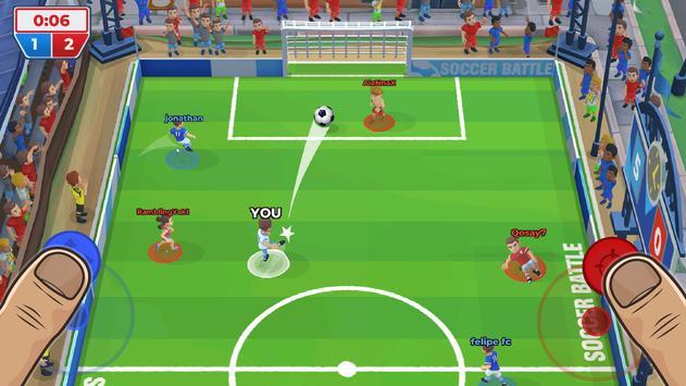 Batalha de Futebol (Soccer Battle) imagem de tela 3