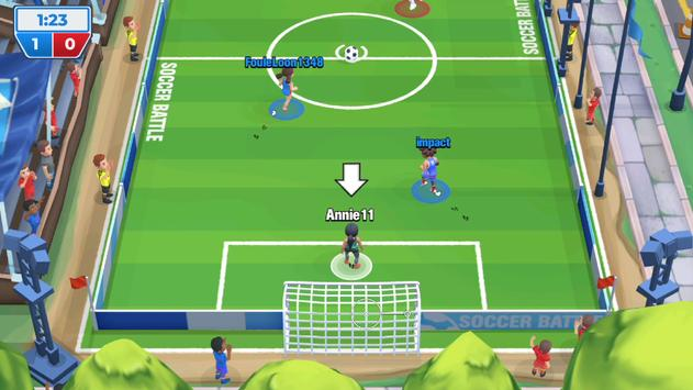 Voetbalgevecht (Soccer Battle) screenshot 1