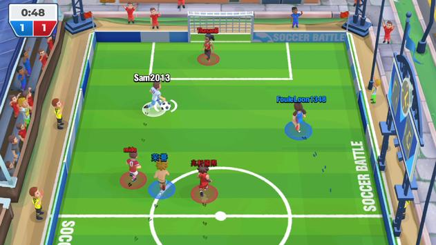 Voetbalgevecht (Soccer Battle) screenshot 2