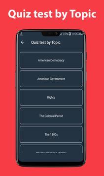 US Citizenship Test captura de pantalla 2