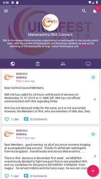 Maharashtra IRIA Connect Cartaz