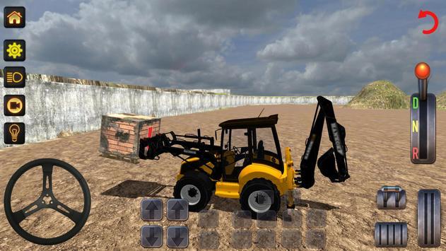 Excavator Simulator poster