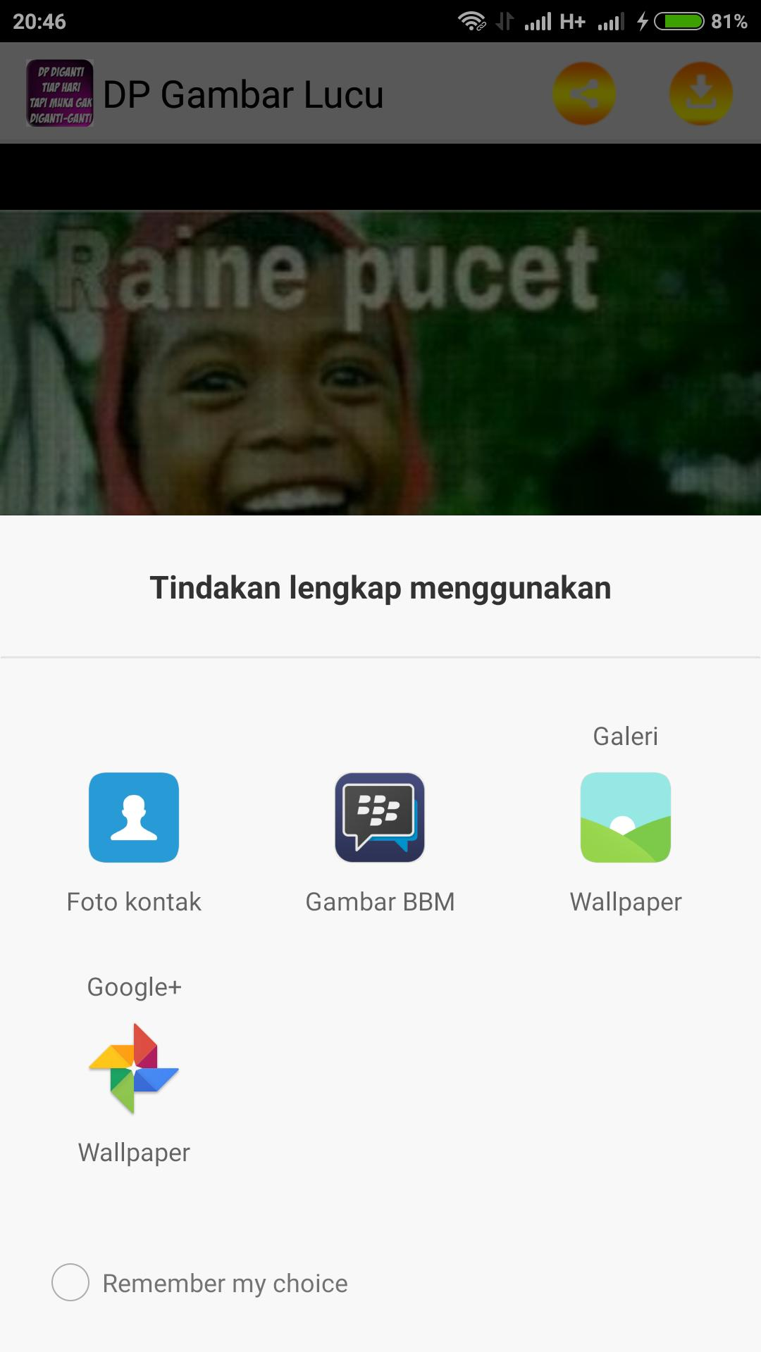 Gambar DP Lucu For Android APK Download