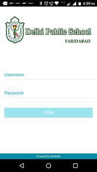 DPS Faridabad poster