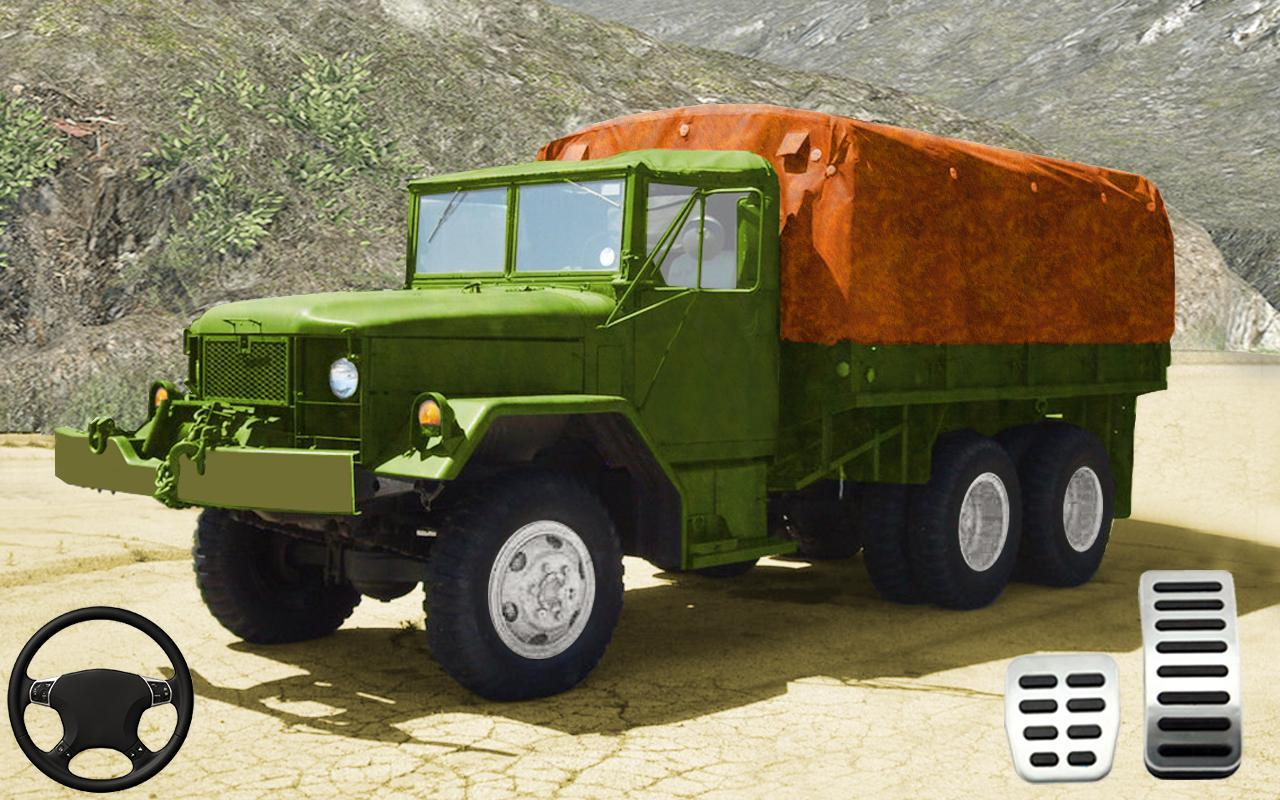 indian army truck driving: military truck mission para