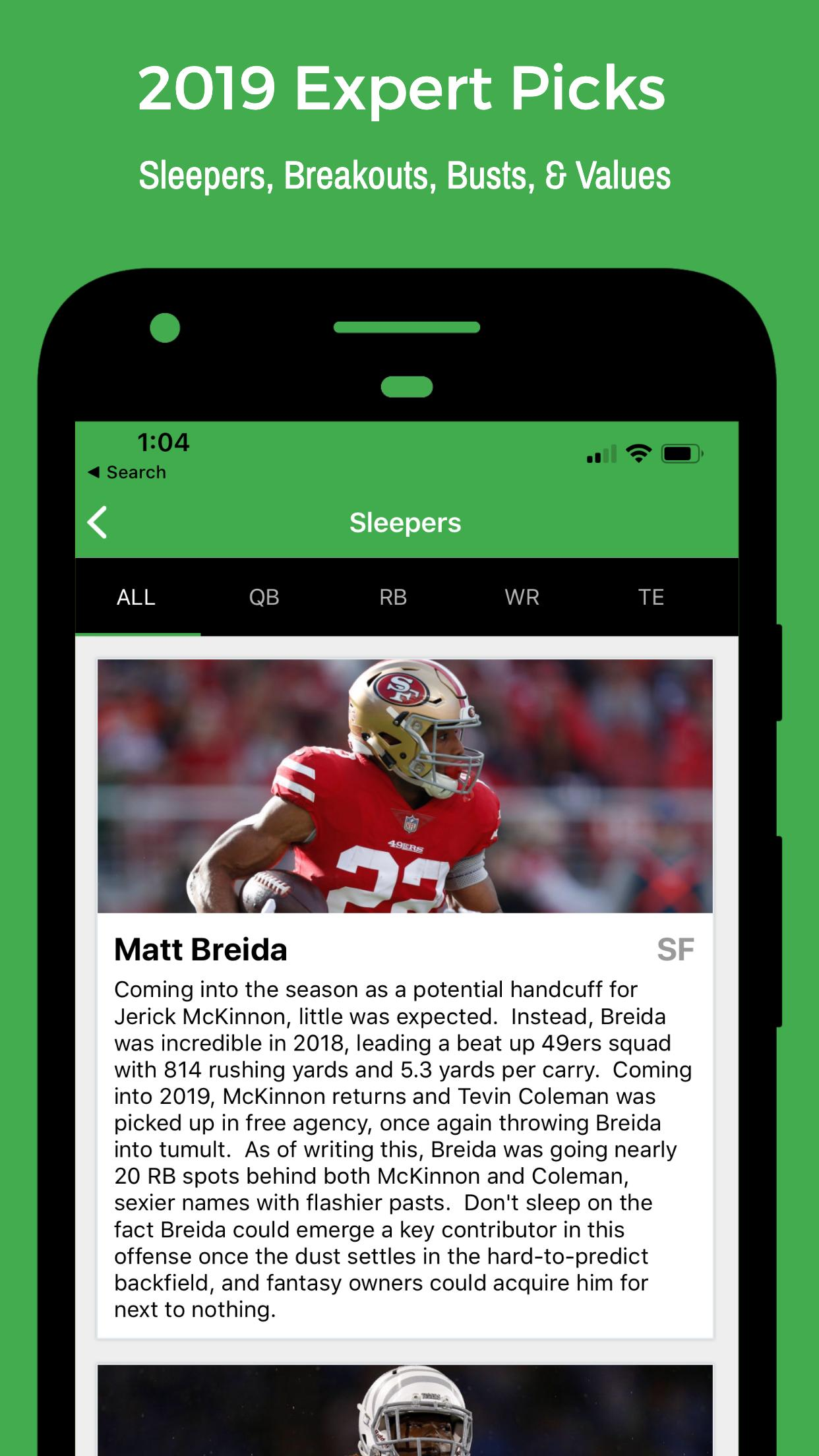 Fantasy Football Draft Kit 2019 - UDK for Android - APK Download