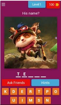 LoL Quiz poster