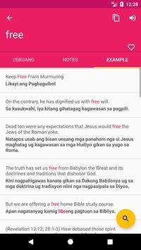 Cebuano English Offline Dictionary & Translator screenshot 2