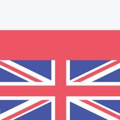 Polish English Offline Dictionary & Translator icon