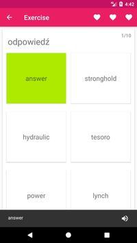 Polish English Offline Dictionary & Translator screenshot 4