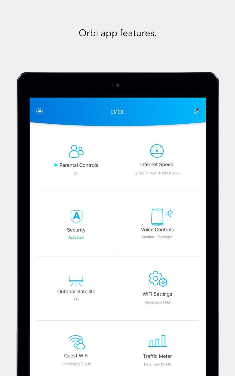 NETGEAR Orbi – WiFi System App for Android - APK Download