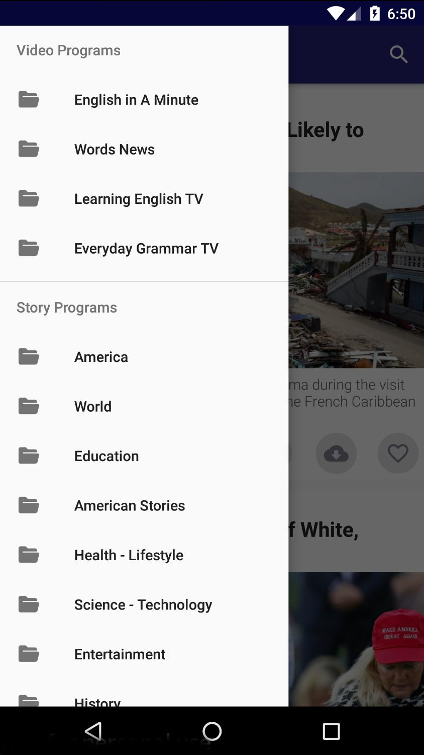 Listening English with VOA - Practice Listening for Android - APK