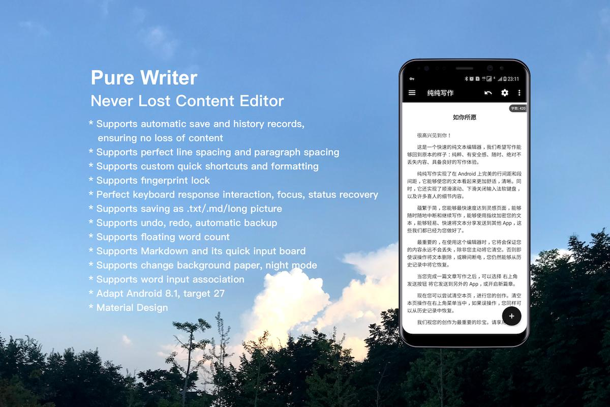 how to use writer app