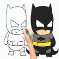 Draw Superhero Steps by Steps