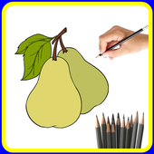 How to Draw Fruit Step by Step icon