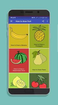 How to Draw Fruit Step by Step poster