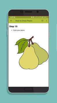 How to Draw Fruit Step by Step screenshot 3