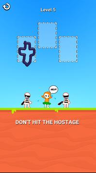 お絵描きヒーロー3D:お絵描きパズルゲーム スクリーンショット 3