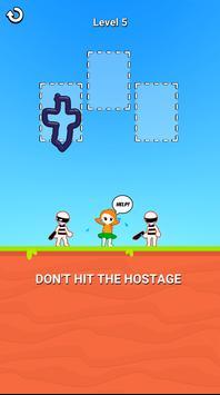 お絵描きヒーロー3D:お絵描きパズルゲーム スクリーンショット 18