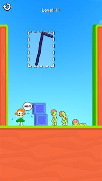お絵描きヒーロー3D:お絵描きパズルゲーム スクリーンショット 7